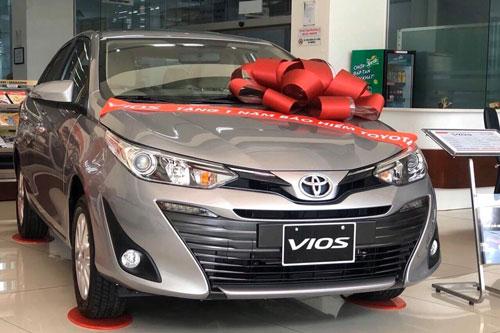 Toyota Vios 2020. Ảnh: Thanh niên.