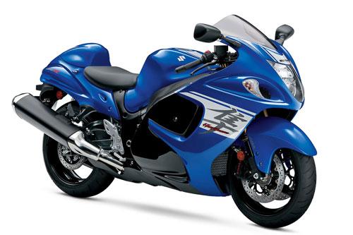 8. Suzuki Hayabusa (vận tốc tối đa: 312 km/h).