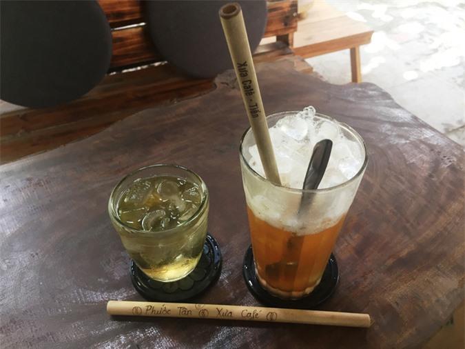 Quán cà phê uống xong tặng ống hút tre khắc tên khách gây bão - Ảnh 2.