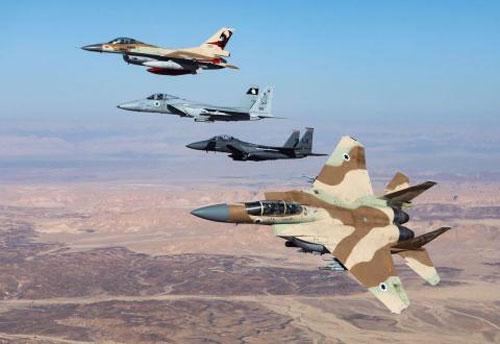 Không quân Israel.
