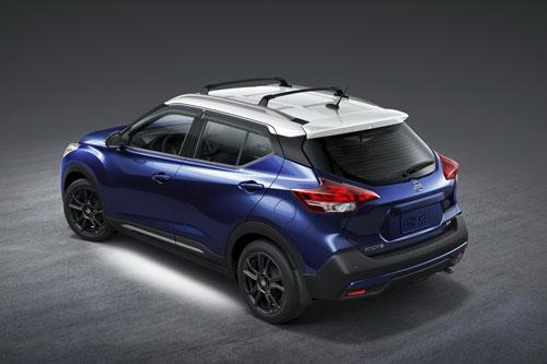 Nissan Kicks 2020 (giá khởi điểm: 18.640 USD).