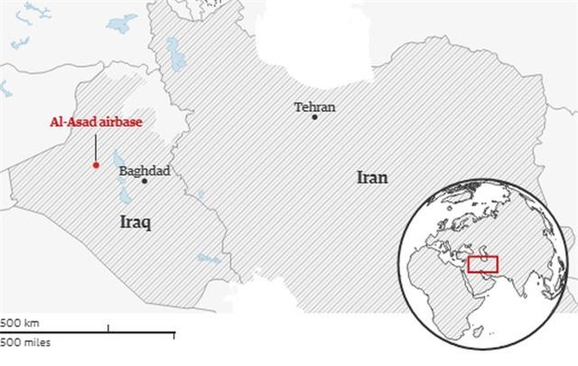 Iran bắn hàng chục tên lửa vào căn cứ có quân Mỹ đồn trú tại Iraq - 3