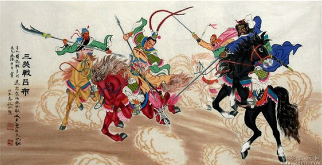 Võ tướng dũng mãnh số 1 Tam Quốc chết thảm trong tay Tào Tháo chỉ vì 1 câu nói của Lưu Bị - Ảnh 1.