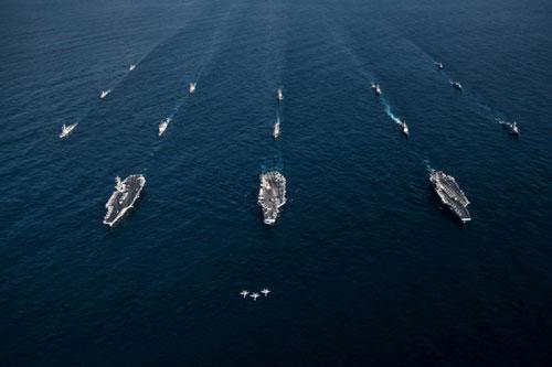 Theo thông tin mới nhất được Hải quân Mỹ tuyên bố, tính tới trưa ngày 31/12/2019, Hạm đội 2 Hải quân Mỹ đã có lại toàn lực với sức mạnh lớn nhất trước khi bước sang thập kỷ mới. Nguồn ảnh: USnavy.