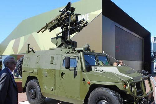 Từ năm 2016, Nga đã bắt đầu giới thiệu tổ hợp tên lửa mang tên Gibka-S và dự kiến vào năm nay, 2020, Nga sẽ bắt đầu trang bị tổ hợp này cho lực lượng lục quân. Nguồn ảnh: Rumil.