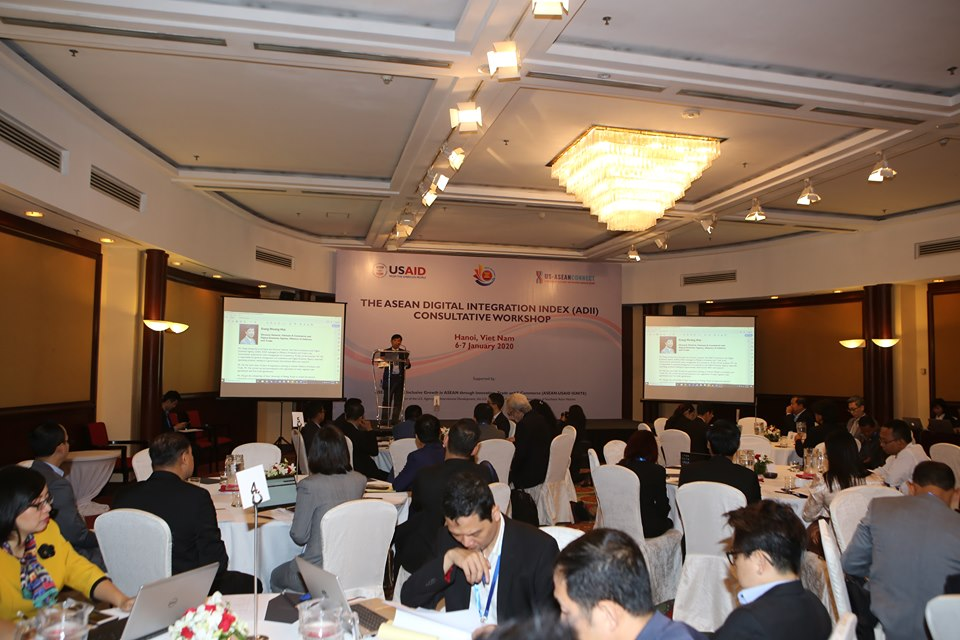 Hội thảo tham vấn về Chỉ số Hội nhập số ASEAN .