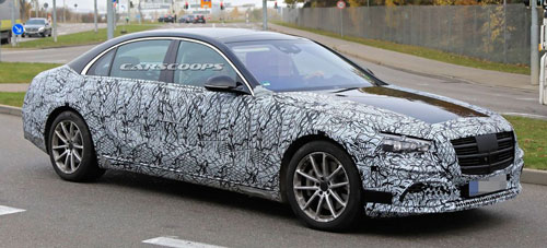 Mercedes-Benz S-Class 2020 có vẻ đẹp