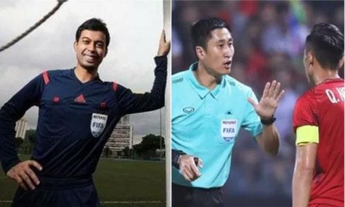 Trọng tài Muhammad Taqi và Ma Ning đều có nhiều duyên nợ với bóng đá Việt Nam.