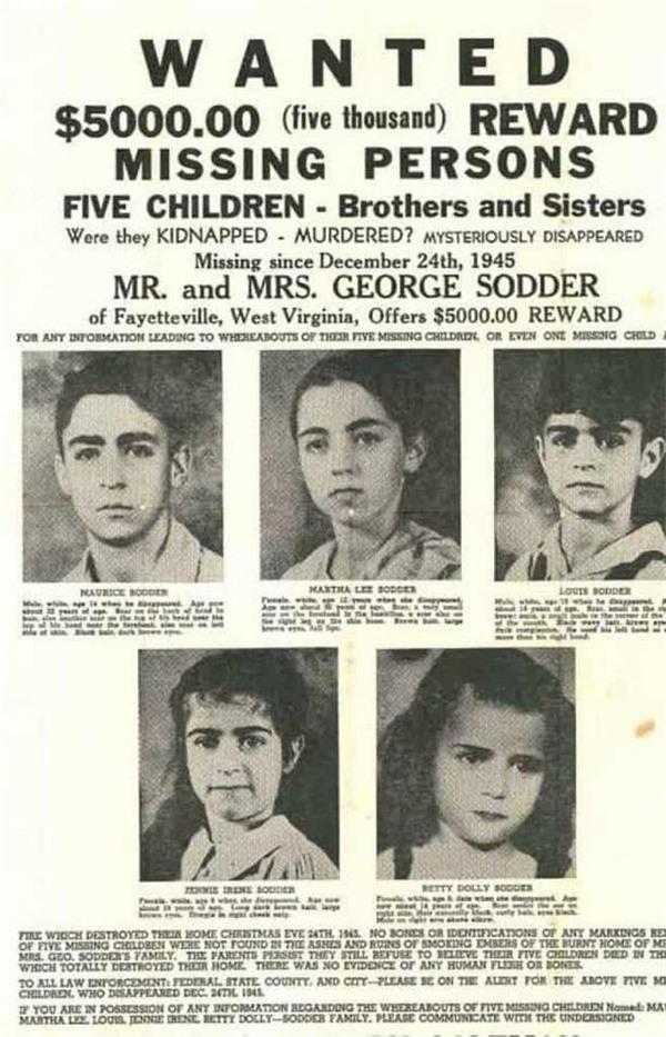 5 đứa trẻ mất tích bí ẩn trong vụ hỏa hoạn đêm Giáng sinh, sau 74 năm vẫn không có lời giải thích - Ảnh 6.