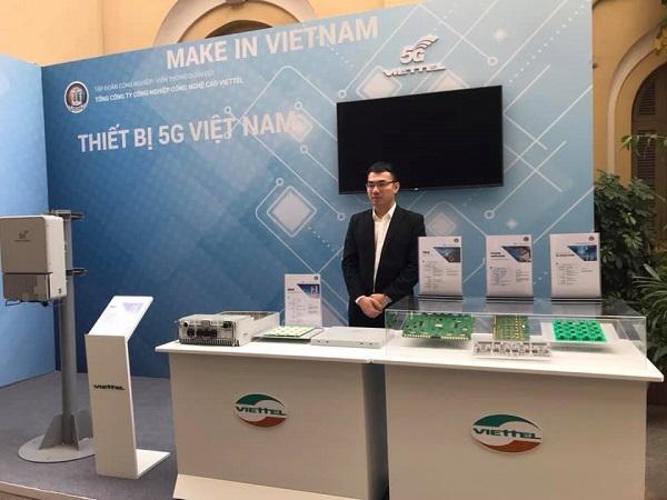 Viettel đã ghi tên Việt Nam là một trong 5 nước đầu tiên trên thế giới sản xuất được thiết bị 5G.