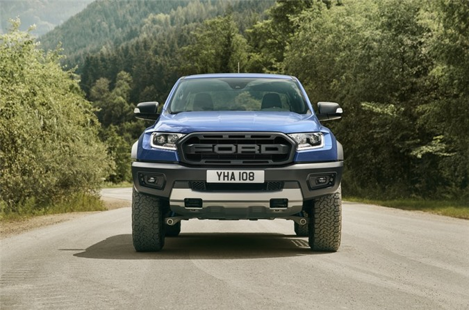 Ford Ranger Raptor.