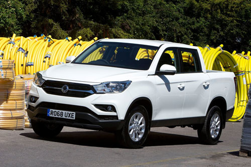 7. SsangYong Musso.