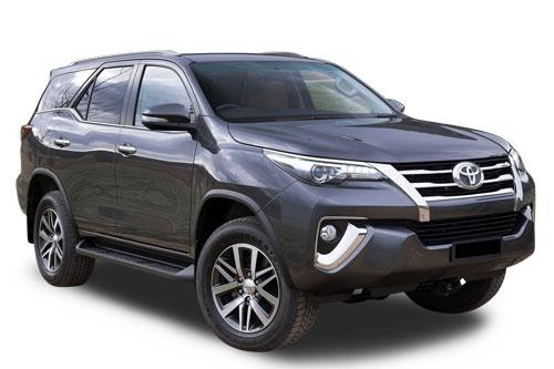 Toyota Fortuner.
