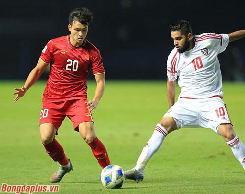U23 Việt Nam hòa trước UAE- Ảnh Minh Tuấn
