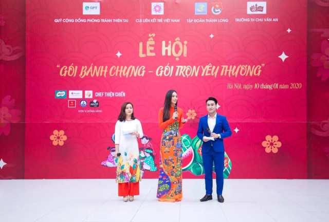 Chương trình với sự tham gia của Hoa hậu Việt Nam 2018 Trần Tiểu Vy