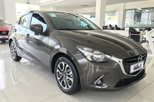 Mazda 2 sedan. Ảnh: Mazda Thanh Hoá.