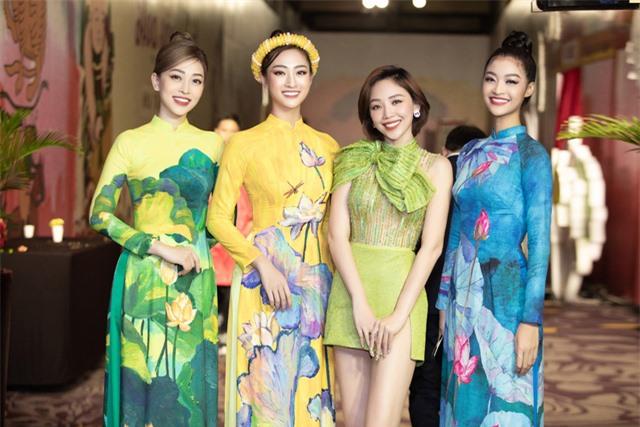 Phan Mạnh Quỳnh, Hồ Ngọc Hà, Tóc Tiên hội ngộ dàn Hoa hậu, Á hậu - Ảnh 17.
