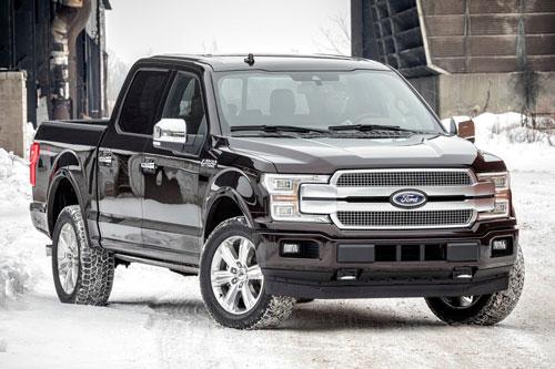 Ford F-Series (doanh số: 896.526 chiếc)