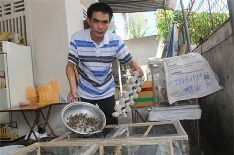 Đang là giáo viên dạy toán ở huyện Diễn Châu (Nghệ An), anh