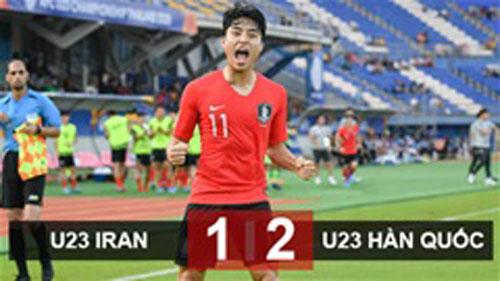 U23 Hàn Quốc giành vé vào tứ kết