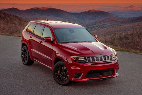10. Jeep Grand Cherokee Trackhawk 2020.