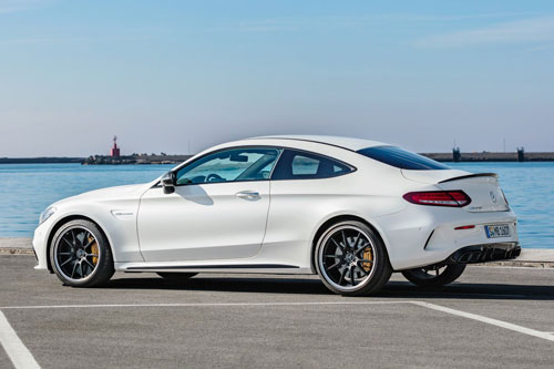 9. Mercedes-Benz AMG C63 S Coupe 2020.