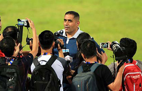 HLV U23 Jordan, ông Ahmed Abdel Kader.