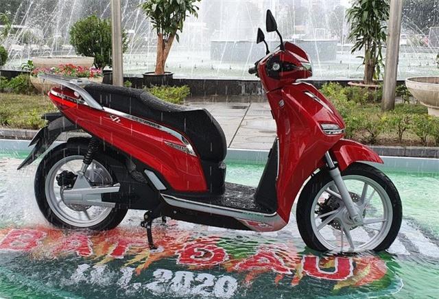 Pega ra mắt mẫu xe máy điện giống SH cả tên gọi và thiết kế - Ảnh 1.