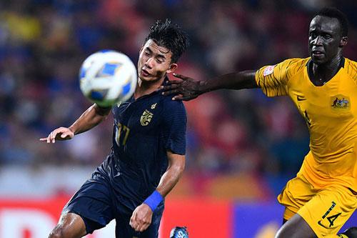 Thần đồng Suphanat Mueanta bỏ ngỏ khả năng ra sân ở trận gặp U23 Iraq. Ảnh: AFC.