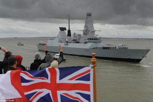 Chiến hạm Anh.