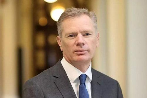 Đại sứ Anh tại Iran Robert Macaire. (Ảnh: iNews)