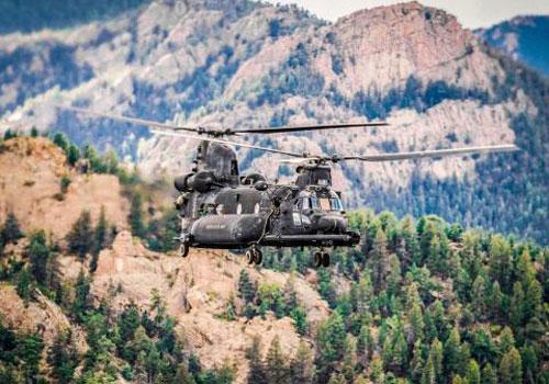 Trực thăng MH-47G Chinook tích hợp hệ thống AN/AAQ-24.