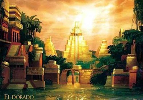 Thành phố El Dorado được nhắc đến trong nhiều giai thoại, truyền thuyết. Đặc biệt, chuyện về hoàng đế dát vàng lên người thu hút sự hiếu kỳ của nhiều người.
