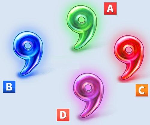 Bạn chọn một viên ngọc hình số 9 nào?