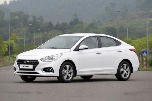 3. Hyundai Accent (doanh số: 19.719 chiếc).