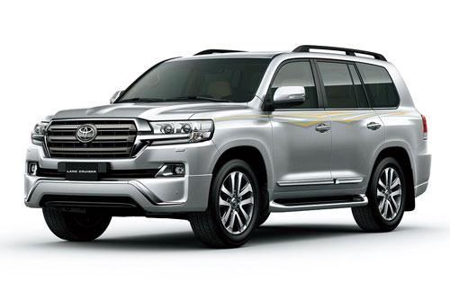 3. Toyota Land Cruiser (doanh số: 267 chiếc