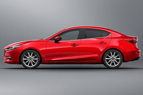 5. Mazda 3 (doanh số: 13.761 chiếc).