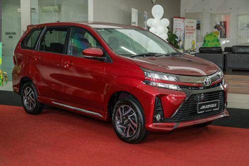 6. Toyota Avanza (doanh số: 763 chiếc