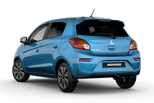 7. Mitsubishi Mirage (doanh số: 773 chiếc