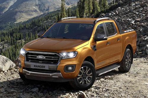 7. Ford Ranger (doanh số: 13.319 chiếc).