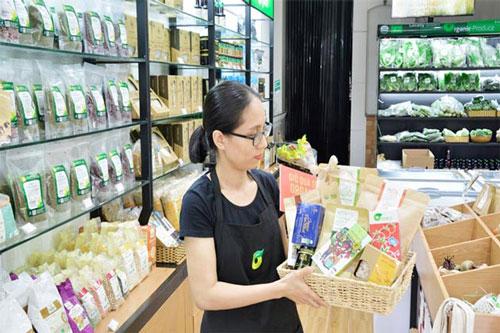 Giỏ quà Tết gồm các sản phẩm hữu cơ hấp dẫn người tiêu dùng