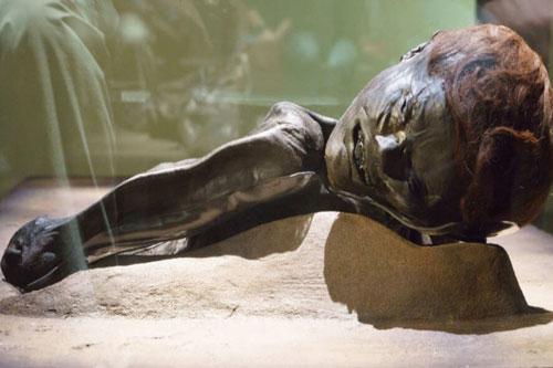 Một nhóm công nhân tình cờ phát hiện một xác ướp đầm lầy hơn 2.300 tuổi tại đầm lầy Jutland của Đan Mạch. Theo đó, các chuyên gia đặt tên cho xác ướp là Grauballe.