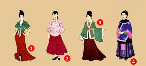 Bạn chọn bộ Hán phục nào?