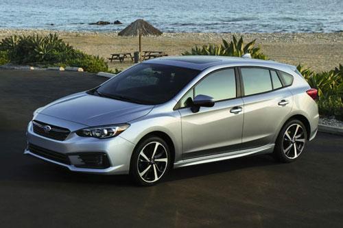 8. Subaru Impreza Limited 2020.