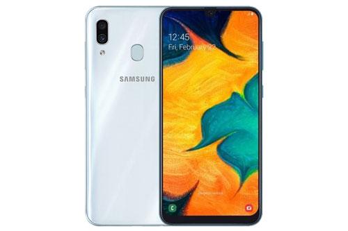 Samsung Galaxy A30. Phiên bản ROM 64 GB từ 5,79 triệu đồng xuống 4,79 triệu đồng. Phiên bản ROM 32 GB từ 4,99 triệu đồng xuống 3,99 triệu đồng.