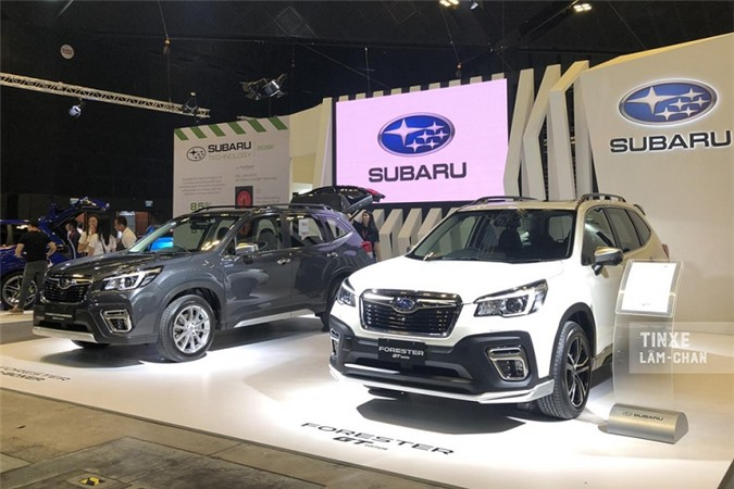Chi tiet Subaru Forester GT Edition moi sap ve Viet Nam