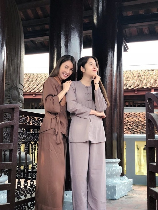 Quế Vân và Nam Em có mối quan hệ rất thân thiết.
