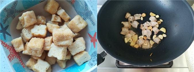 Miến xào đậu phụ cải thảo ngọt ngon cho bữa sáng - Ảnh 2.