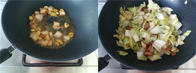Miến xào đậu phụ cải thảo ngọt ngon cho bữa sáng - Ảnh 3.