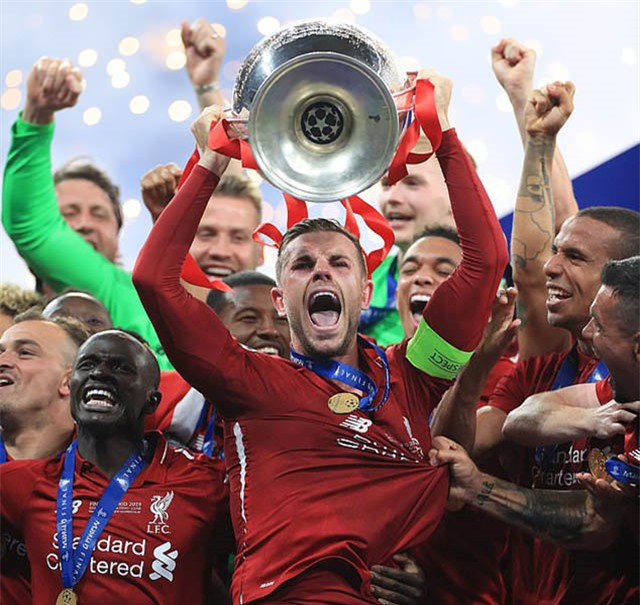 Liverpool đã có năm 2019 thành công